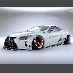 Modifikasi Unik Lexus LC 500 Bikinan Liberty Walk