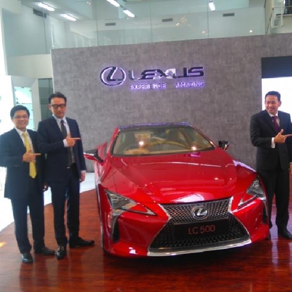 Lexus LC 500 Resmi Hadir di Jakarta