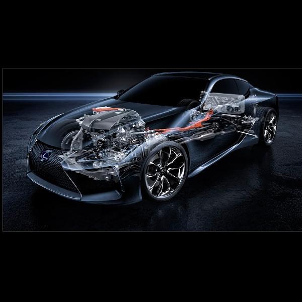 Lexus LC 500h Hybrid Jauh Lebih Responsif