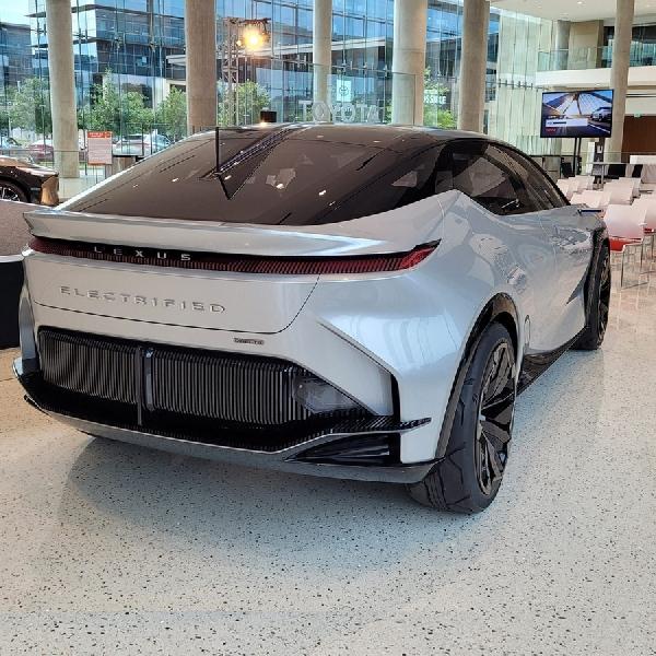 Lexus LF-Z Electrified Concept Akan Hadir Dalam Model Produksi