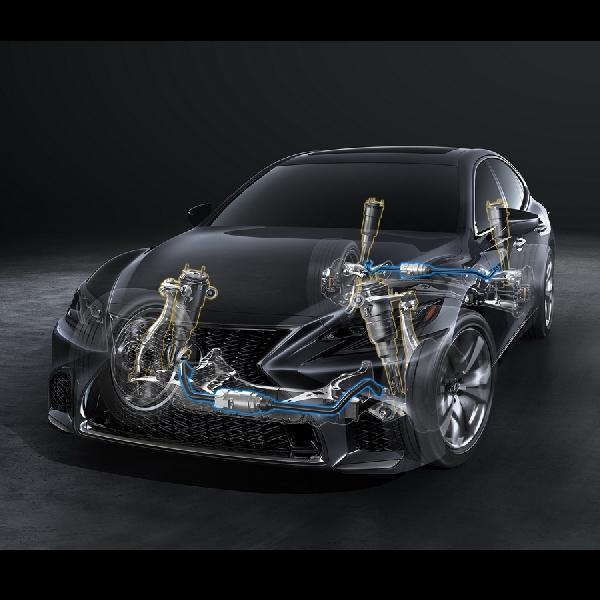 New LS 500 F Sport - LS Paling Agresif