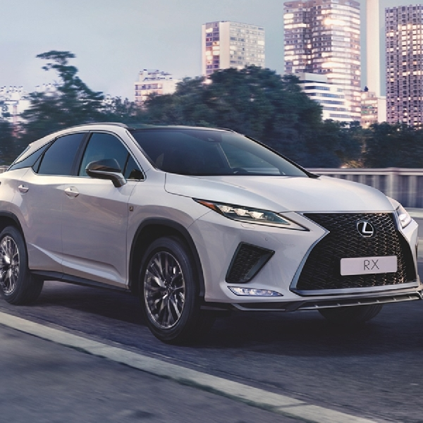 The New Lexus RX 300 Series, SUV Crossover Terbaru dari Lexus