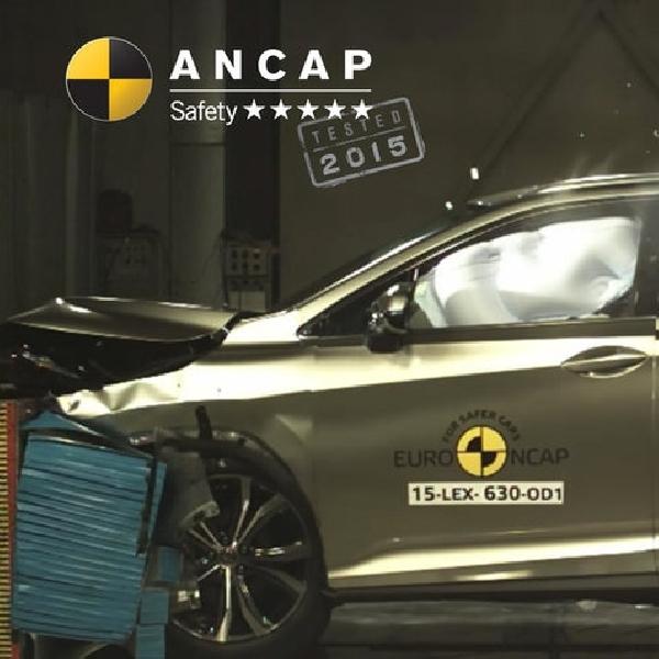 SUV Lexus RX Raih Poin Tertinggi Untuk Fitur Keselamatan