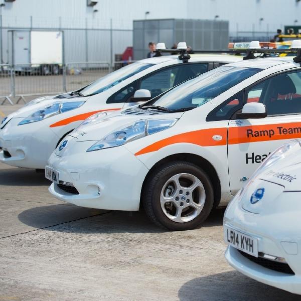 Nissan LEAF Resmi Menjadi Mobil Operasional Bandara Heathrow