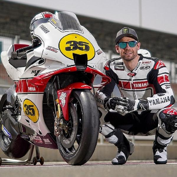 MotoGP: Livery Spesial Ulang Tahun Yamaha, Untuk Cal Crutchlow di Uji Coba Qatar