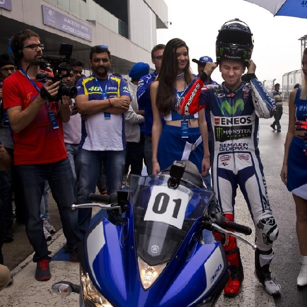 MotoGP: Lorenzo Geber R3 di India