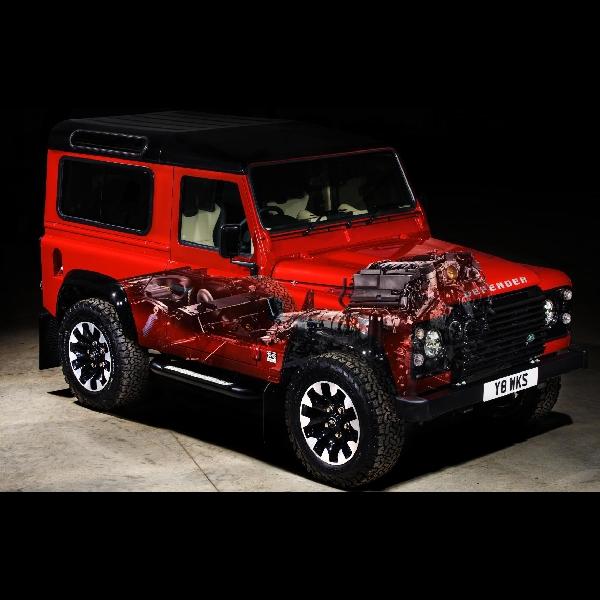 Land Rover Pasang Amunisi V8 Pada Defender