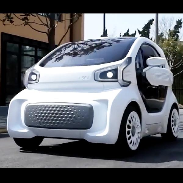 Mobil Mungil 3D-Printed Electric Goda Pasar Eropa