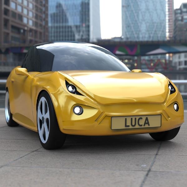 LUCA EV Concept, Masa Depan Mobil Cukup dari Limbah Plastik