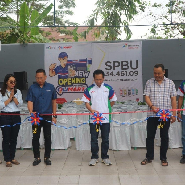 Pertamina Lubricants  Luncurkan Olimart SPBU di Tasikmalaya