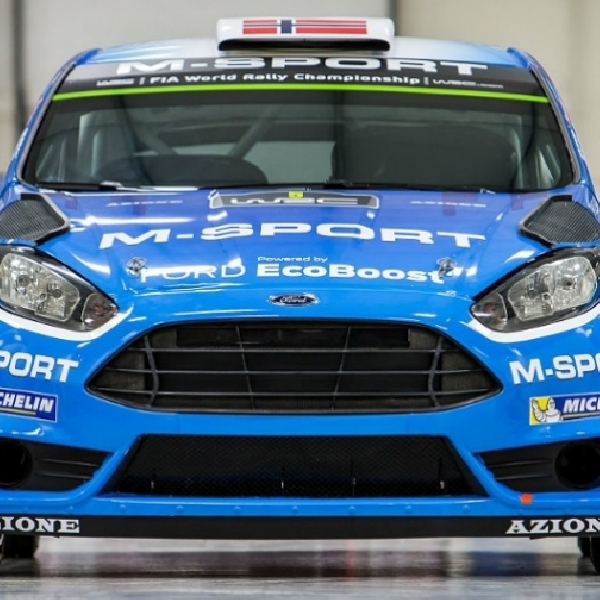 WRC: M-Sport Kenalkan Tunggangan 2016