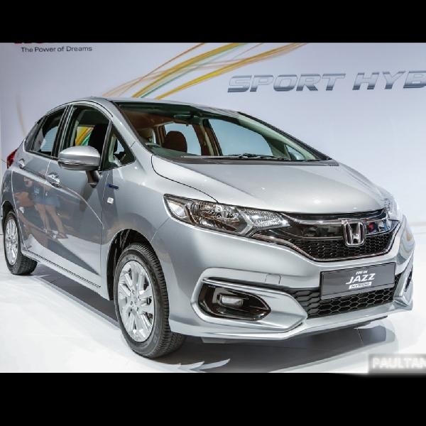 Malaysia Jadi Negara Pertama yang Meluncurkan Honda Jazz Hybrid
