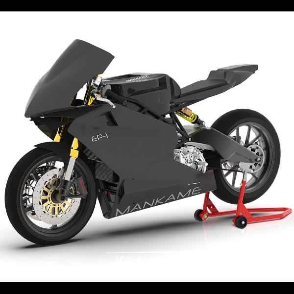 Mankame Automotive Rancang EP-1, Sportbike Elektrik Dengan Jarak Tempuh 500km