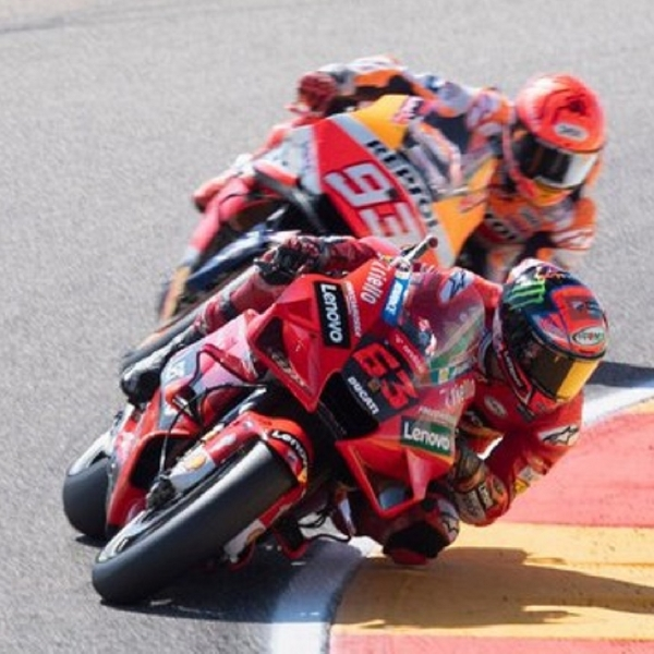 MotoGP: Marc Marquez Bandingkan Kemampuan Francesco Bagnaia Dengan Andrea Dovizioso