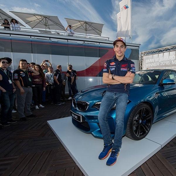 Juara Dunia MotoGP 2016, Marc Marquez Bawa Pulang BMW M2 Coupe