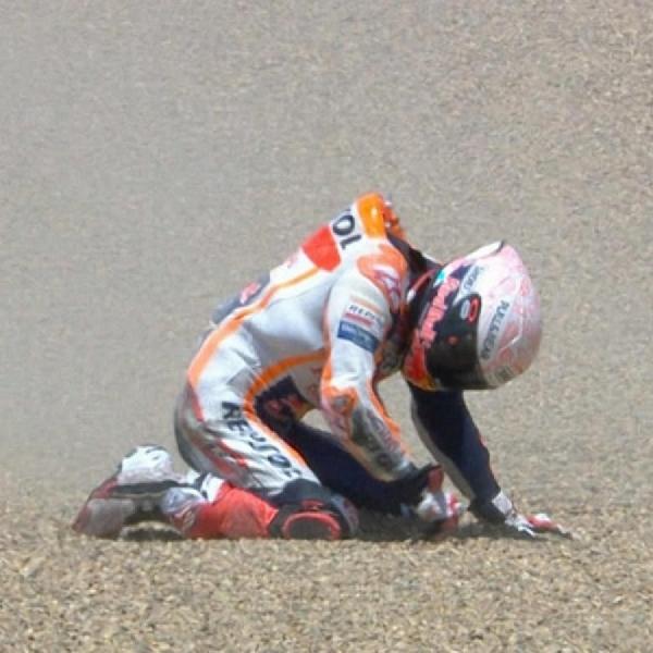 MotoGP: Marc Marquez Cedera, Honda tak Cari Pengganti Untuk MotoGP Andalusia