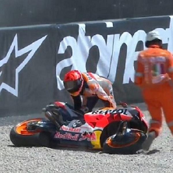 MotoGP: Marc Marquez Dituduh Penyebab Kecelakaan Dengan Brad Binder di GP Italia