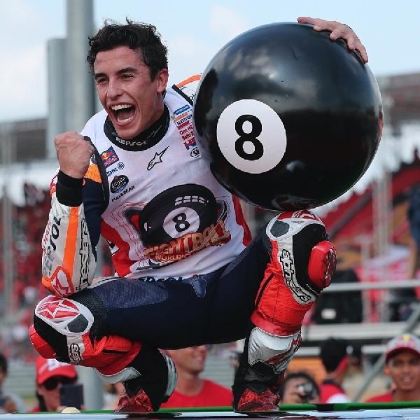 MotoGP: Mustahil Bagi Marquez Pecahkan Rekor Agostini