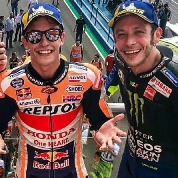 MotoGP: Marc Marquez Sebut Dirinya dan Rossi Punya Mentalitas Berbeda