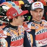 MotoGP: Marc Marquez Tanggapi Nasib Jorge Lorenzo di Honda
