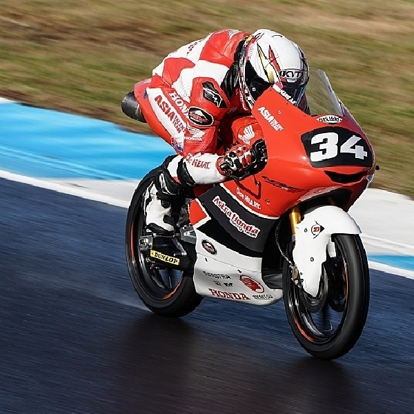 CEV Moto3 : Mario Suryo Aji Gagal Naik Podium dengan Finish Keempat