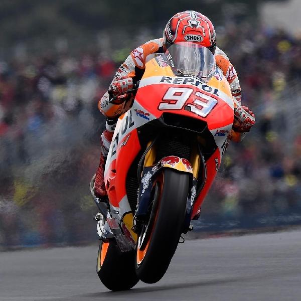 MotoGP: Marquez Masih Keluhkan Ban Depan