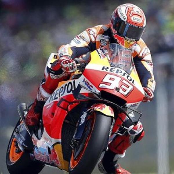 MotoGP Silverstone 2019 : Marquez dan Vinales Saling Rebut Waktu Terbaik di FP2