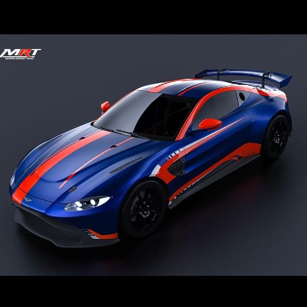 Ketika Aston Martin Vantage  Dipoles Menjadi Mobil Balap GT Racing
