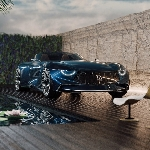 Kemewahan Rendering Maserati GranTurismo Targa ala Piccarini