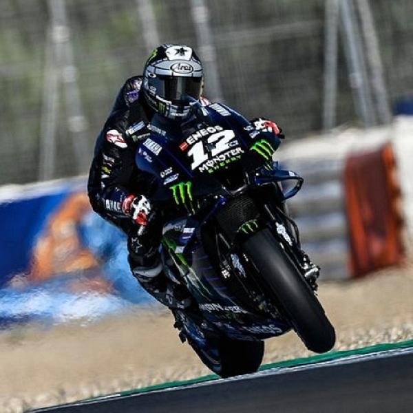 MotoGP: Maverick Vinales Terdepan, Fabio Quartararo Kedelapan di FP3 MotoGP Austria