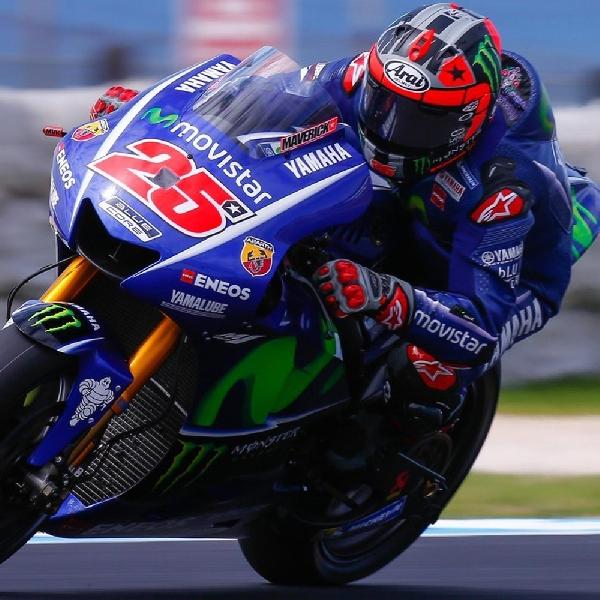 MotoGP: Vinales Ingin Contek Gaya Balap Lorenzo