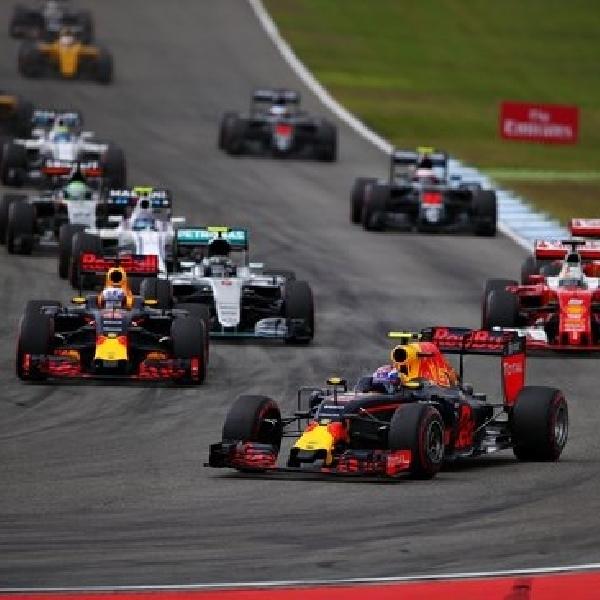 F1: Red Bull Racing Raih Podium Ganda di GP Jerman
