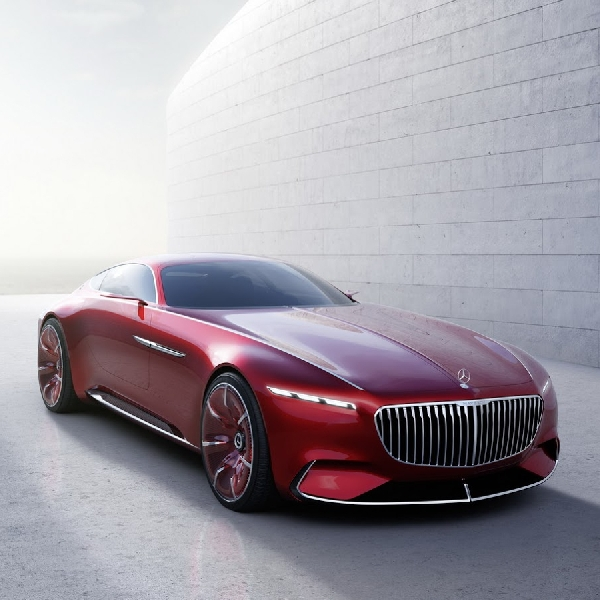 Vision Mercedes-Maybach 6, hasilkan tenaga 750 hp!