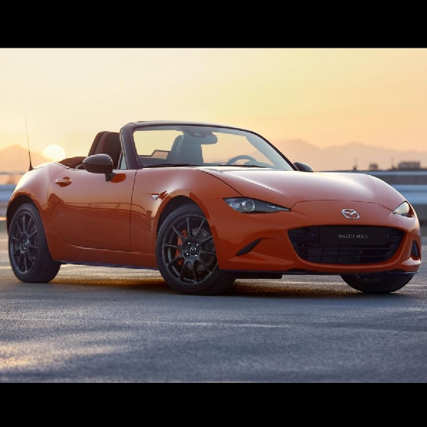 Mazda MX-5 30th Anniversary Edition Hadir di Chicago Auto Show 2019