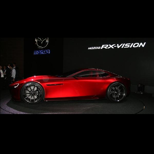 Mazda Belum Berniat Luncurkan Konsep RX-Vision