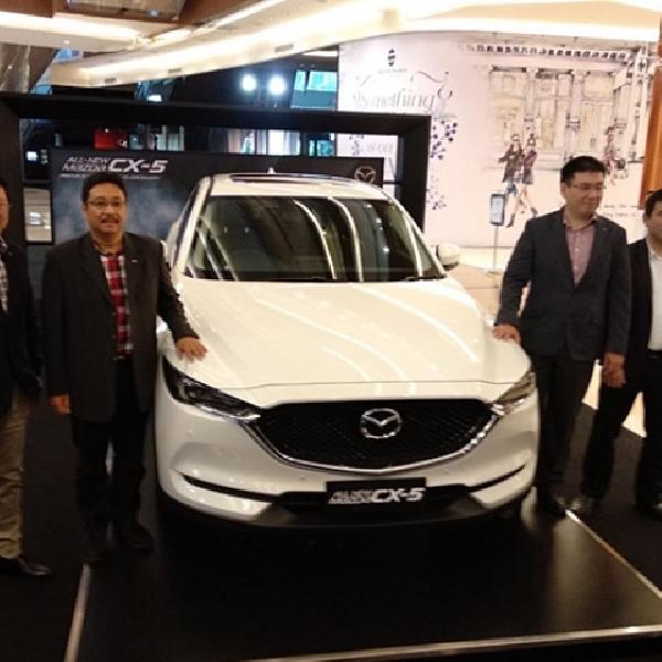 Mazda Luncurkan CX-5 Versi Murah