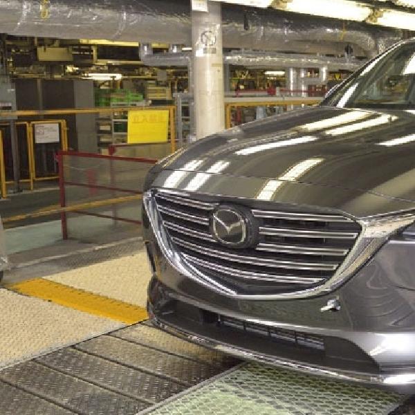 Mazda CX-9 Bakal Diproduksi di Hiroshima