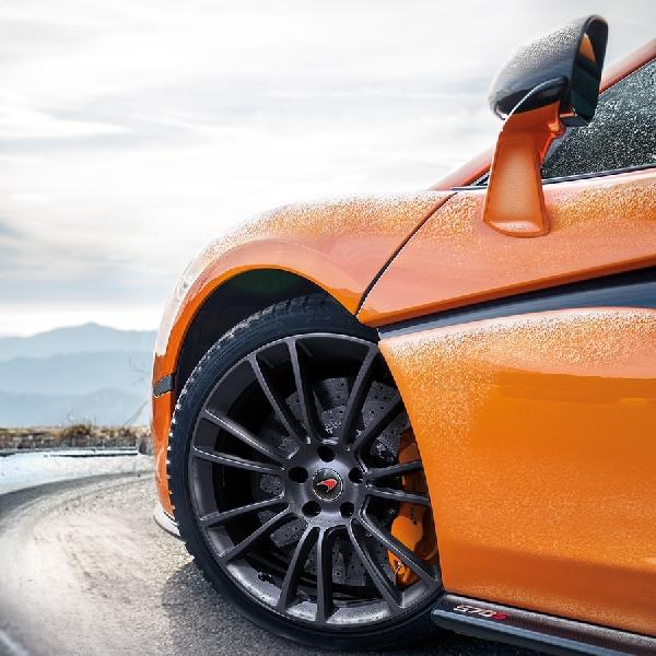 McLaren dan Pirelli Kembangkan Ban Musim Dingin