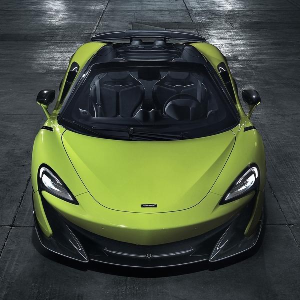 Sudah Rilis, McLaren 600LT Spider 2019 Sudah Mulai Bisa Dipesan