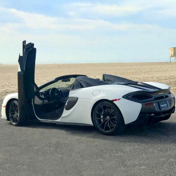 Silica White 570S Spider, Mobil McLaren Ke-5.000 yang Terjual di Amerika Utara