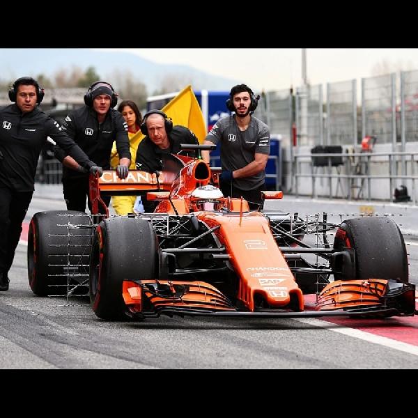 F1: Mclaren Akan Test Drive Mesin Terbaru dari Honda di Bahrain