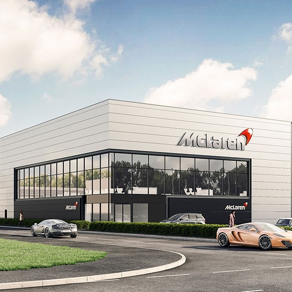 McLaren Automotive Perkenalkan New Composites Technology Centre
