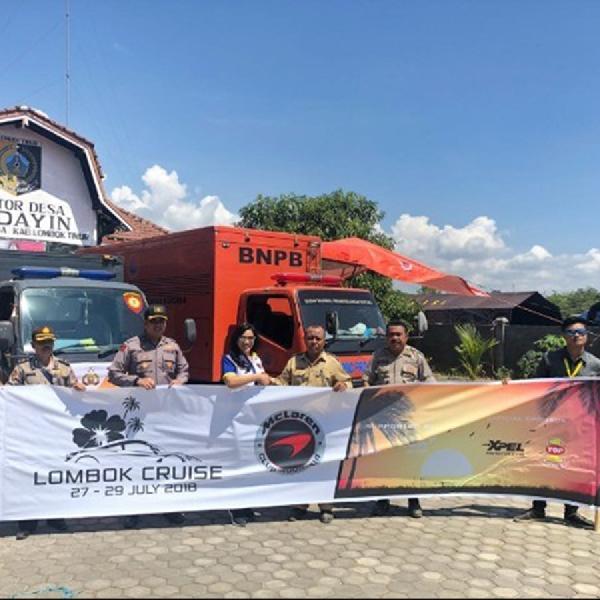 McLaren Club Indonesia Jajal Jalanan di Lombok