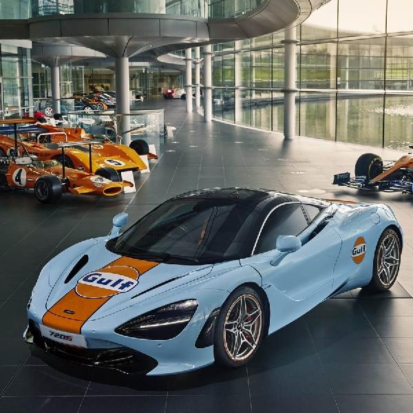 McLaren Dan Gulf Kembali Bekerjasama, Tampilkan Livery Ikonik Pada 720S