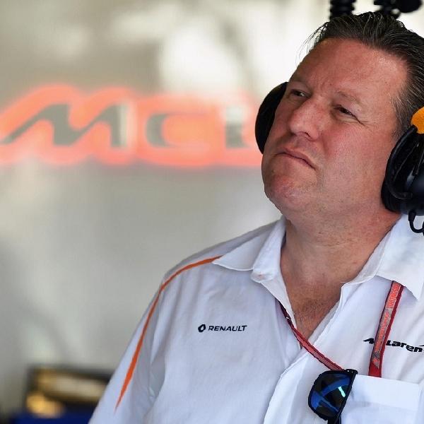 F1: McLaren Dukung Formula 1 Menjalankan 14 Atau 15 Balapan Untuk Musim Ini