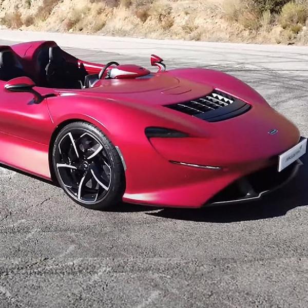 McLaren Elva, Kolaborasi Kecantikan dan Performa Gila