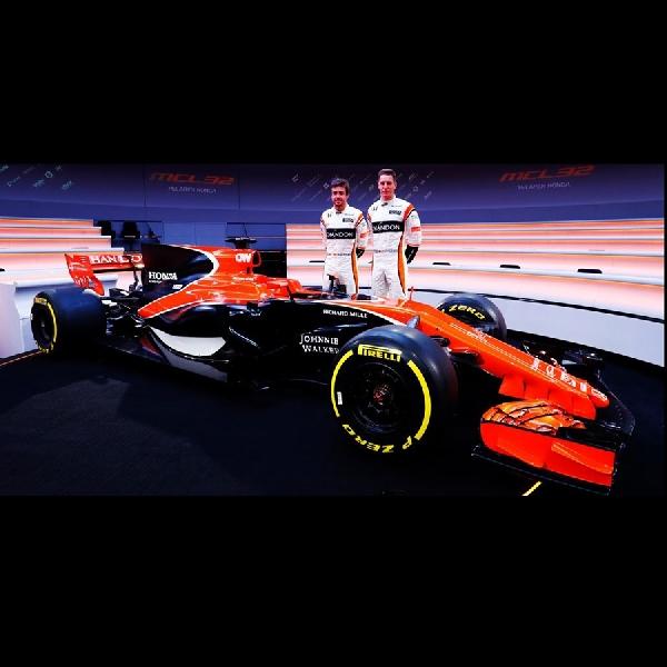 McLaren Honda MCL32 2017 Gunakan Desain Livery Baru