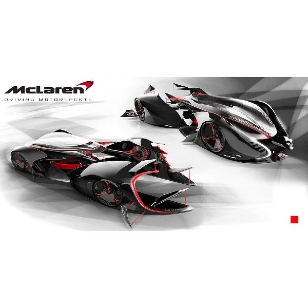 McLaren Siapkan Mobil Balap Futuristik dan Ekstrim