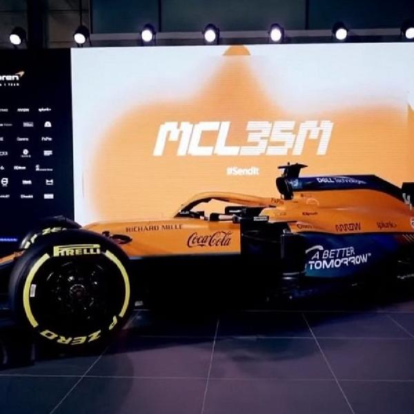 F1: McLaren Luncurkan Mobil MCL35M Untuk Arungi Formula 1 Musim 2021
