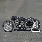 """Membongkar Kustom Harley Davidson Street 750 """"Zon Nevlek"""""""